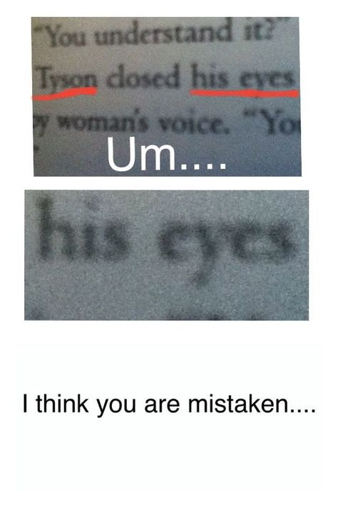 I mean I guess when Percy looks at Tyson he sees both eyes cause he finds it awkward to look through the mist but still Percy Jackson Annabeth Chase, Percy Jackson Memes, Percy Jackson Books, Percy Jackson Fandom, Apollo Percy Jackson, Magnus Chase, Solangelo, Percabeth, Viria