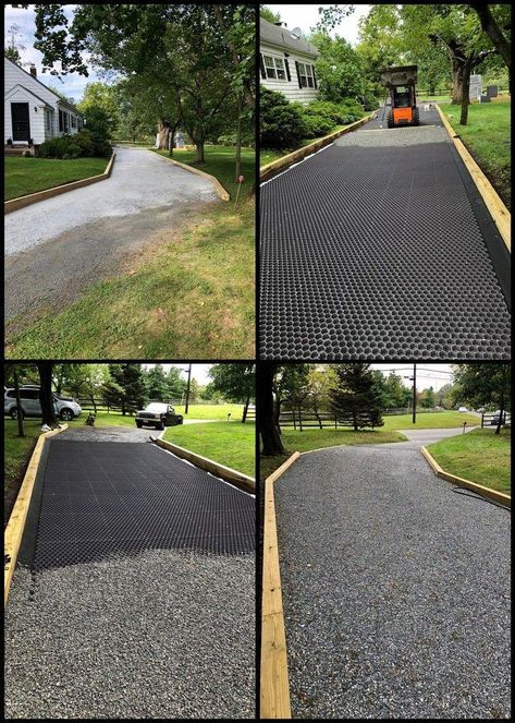 Gardens Discover CORE Landscape Photo Gallery Stabilized Gravel Foundations is part of Driveway landscaping - Diy Driveway Stone Driveway Driveway Design Gravel Driveway Permeable Driveway Grass Pavers Driveway Border Pea Gravel Patio Circular Driveway