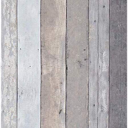 Amazonsmile Reclaimed Wood Contact Paper Rustic Wallpaper Wood Peel And Stick Wallpaper Removable Distr Wood Plank Texture Wood Plank Wallpaper Wood Wallpaper