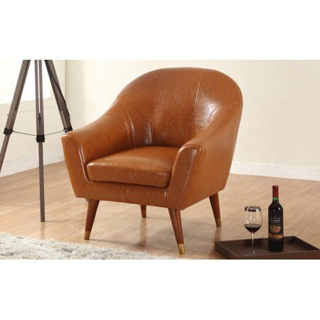 Home With Images Mid Century Modern Accent Chairs Modern Accent Chair Living Room Leather