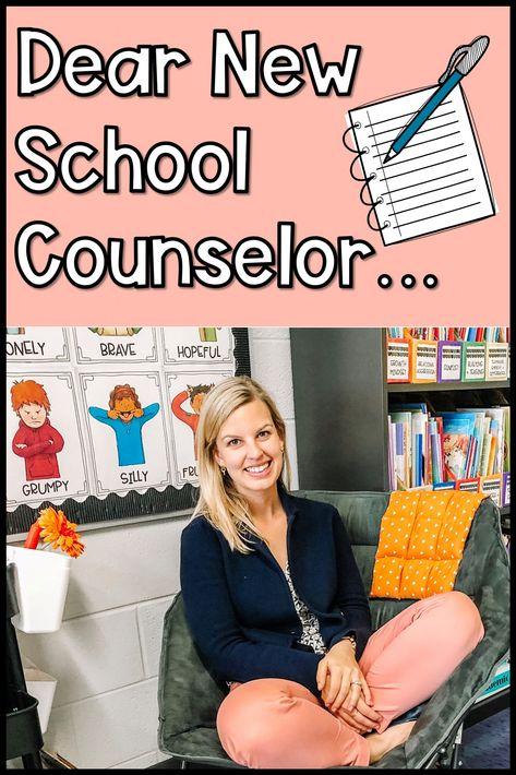 Dear New School Counselor