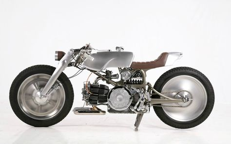 Moto Guzzi Nuovo Falcone by Medaza Cycles