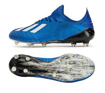 Adidas X 19 2 Mg Eg1492 Soccer Cleats Football Shoes Boots Spikes Blue In 2020 Football Shoes Soccer Shoes Soccer Cleats