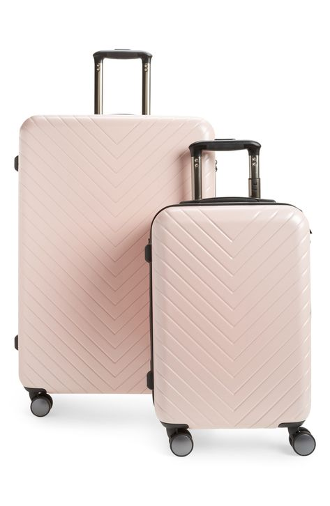 A Chic Millennial Pink Luggage Set To Up The Style Ante For Your Next Vacation