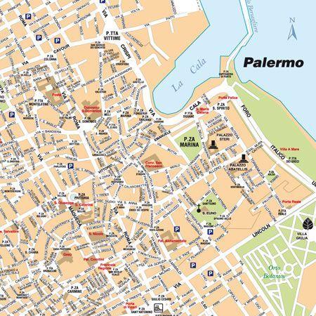 Firenze Cartina Centro Storico.Mappa Palermo Centro Storico Pdf