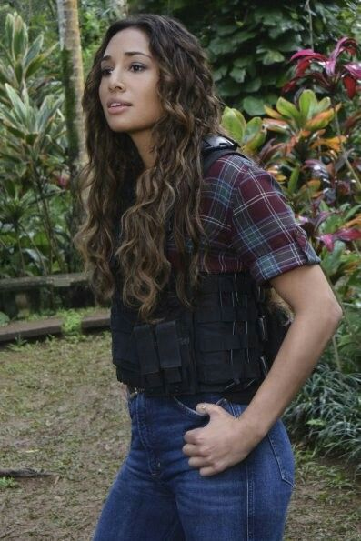 Meaghan Rath as Tani Rey | Meaghan Rath in 2019 | Hawaii