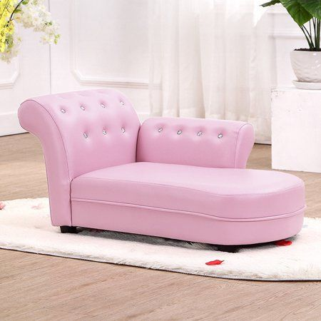 Patio Garden Kids Sofa Leather Chair Chaise Lounge
