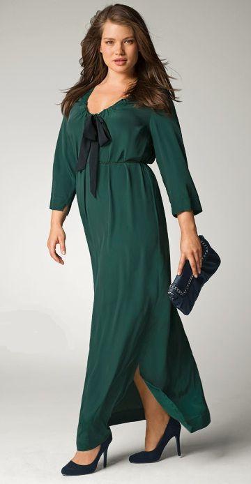 e0e92a94a4f vestido talla grande la redoute verde