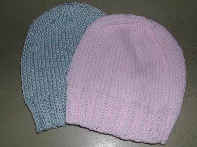 Basic Baby Hat Free Pattern Dk Weight Us 64mm Needles
