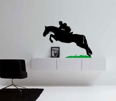 Horse Decal Cowboy Wall Sticker Child S Room Western Decor