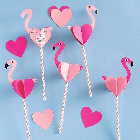 "Description Makes 24 cards. Measures 11"" x 4"". Includes paper straws. Order in multiples of 6 per style. Straw Valentine, Kinder Valentines, Valentine Crafts For Kids, Diy Valentines Cards, Puppy Valentines, Valentine's Day Paper Crafts, Valentine's Day Crafts For Kids, Diy Crafts, Valentinstag Party"