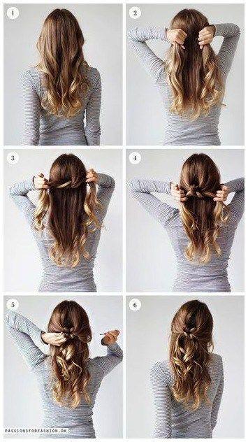Einfache Frisuren Zum Selber Machen Einfache Frisuren Beauty Friseur Frisuren Dirndl Frisuren Offene Haare Leichte Hochsteckfrisuren Frisuren Offene Haare