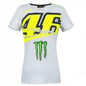 Valentino Rossi VR46 Moto GP The Doctor All Over Print Camiseta Oficial 2019