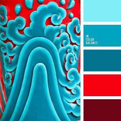 Pin De Tak Prosto En Cvet Paleta De Colores Azul Paleta De