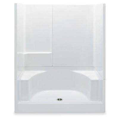 Base Walls Rectangle Shower Stalls Kits Showers The
