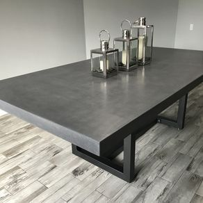 Dining Table 10 Person 9ft X 4 5ft X 3 Inches Thick Concrete
