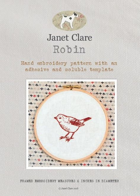 Two beautiful embroidery pictures Moon Cycle and Soaring Gulls with this kit from Janet Clare Sky Embroidery Pictures Kit