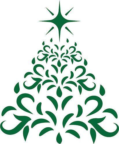Free Svg Christmas Tree Christmas Tree Silhouette Christmas Tree Stencil Christmas Svg Files