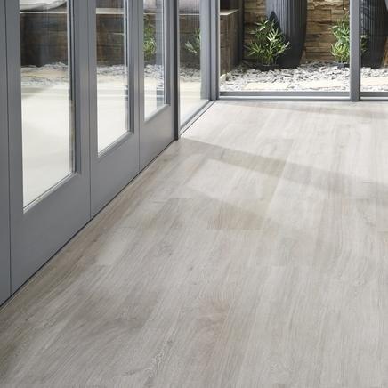 Howdens Dark Grey Oak Floor Cheap Click Laminate Flooring