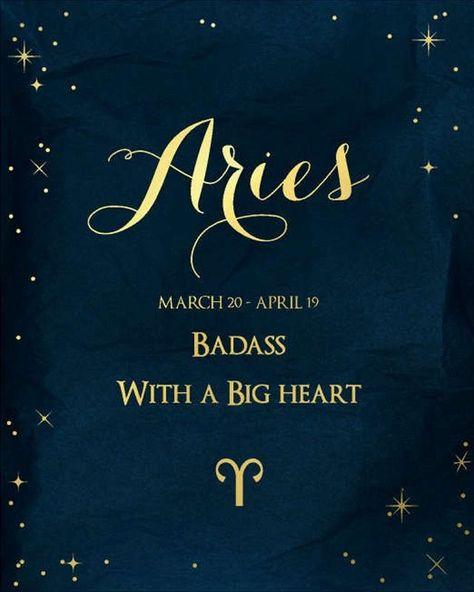 Aries: badass with a big heart Aries: badass with a big heart Aries: badass with a big heart<br> Aries Zodiac Facts, Aries Art, Aries Astrology, Aries Quotes, Aries Sign, Aries Horoscope, My Zodiac Sign, Aries Zodiac Tattoos, Sagittarius Scorpio