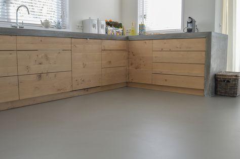 eiken & beton & Solo Gietvloer