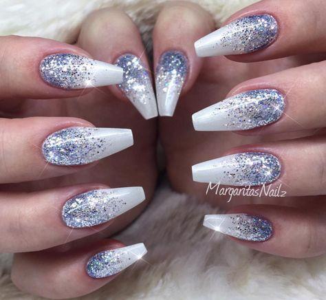 silver-glitter-holiday-nails