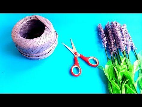Ide Terbaik Tali Rafia Di Jadikan Bunga Youtube Tali Bunga
