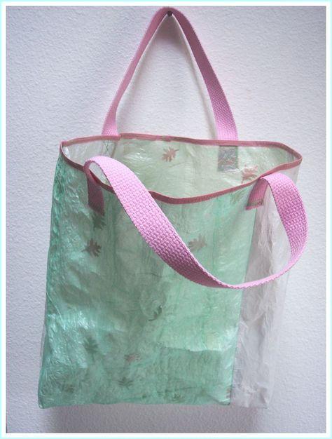 Tutorial for Fused Plastic Bag - insert leaves etc.