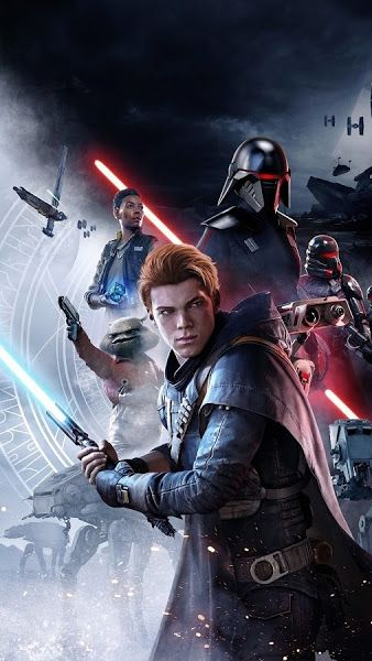 Star Wars Jedi Fallen Order Cal Kestis Characters 4k 3840x2160 Wallpaper Star Wars Gif Star Wars Video Games New Star Wars