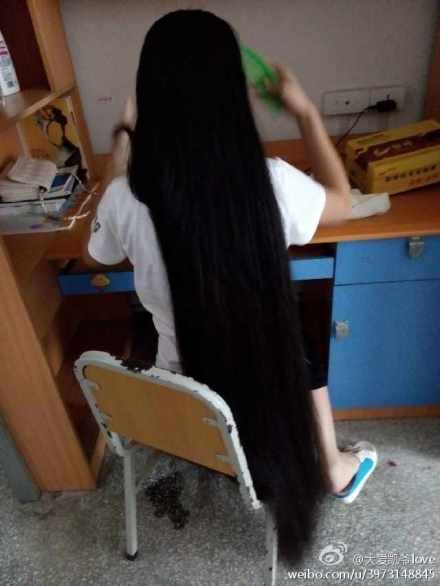 Long Hair Photos From Chinese Twitter 27 Chinalonghair Com Long Hair Styles China Long Hair Hair Photo