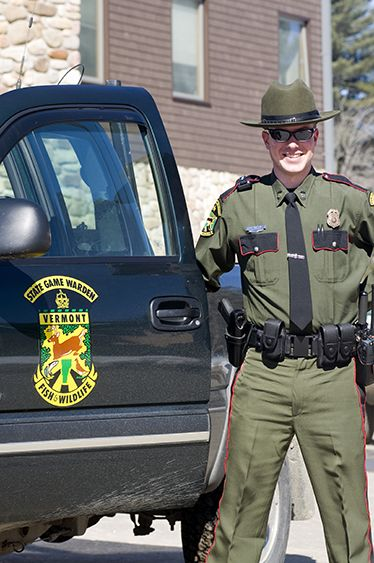 Vermont Game Warden Johnny Law State Police Emergency Service