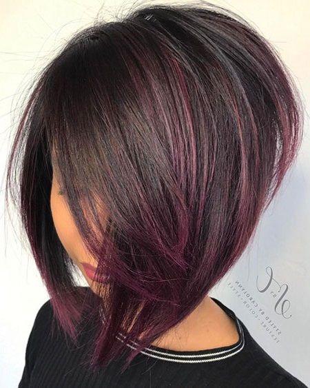 24 Neues Kurzes Haar Mit Farbe Frisuren Bob Frisur Kurzhaar Bobs