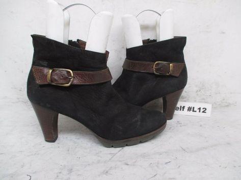 reduzierter Preis attraktive Farbe Sonderangebot PAUL GREEN KARLA Black Leather High Heel Zip Ankle Boots ...