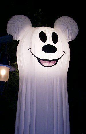 Disneyland Mickey Mouse Halloween Ghost