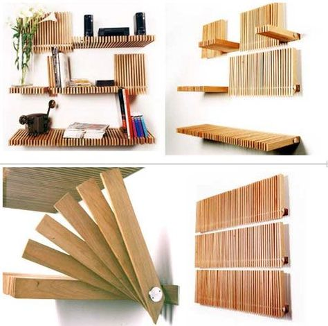 This is the greatest invention for shelving I've seen so far.