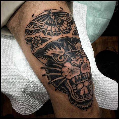 Thanks Sukko, you re tough ! Done at Eternal Tattoo la Paz, Bolivia Thanks Sukko, you re tough ! Done at Eternal Tattoo la Paz, Bolivia Dope Tattoos, Black Tattoos, Body Art Tattoos, Small Tattoos, Sleeve Tattoos, Tattoos For Guys, Thigh Tattoo Men, Leg Tattoos Women, Mens Leg Tattoo