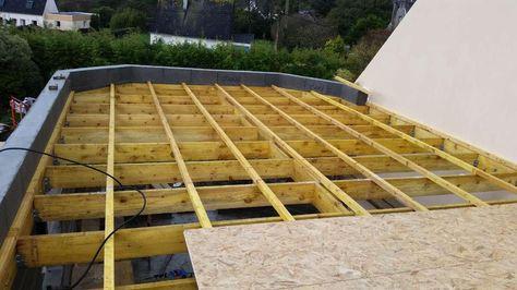 schéma de fabrication toit plat avec membrane EPDM Toit