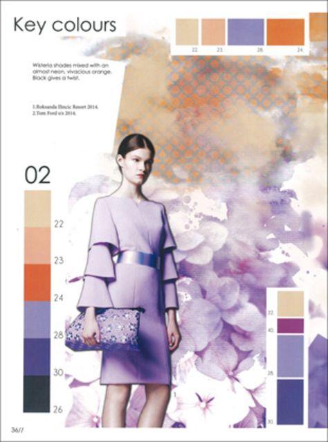Colour & More - S/S 2015 - Kleuren - Styling prognoses- mode ...