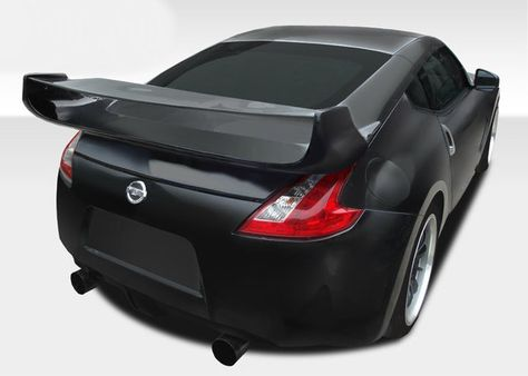 Carbon Creations Replacement for 2009-2019 Nissan 370Z Z34 Coupe N-1 Wing Trunk Lid Spoiler 1 Piece