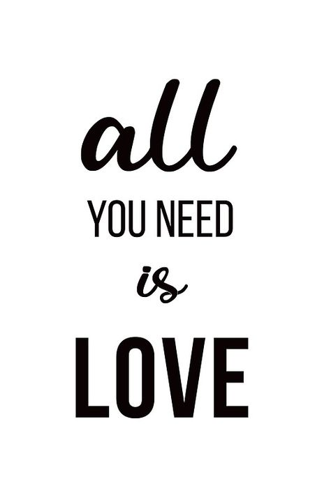 All you need is love A5 Greetings Card and strong Gin