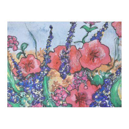 Lavender Poppies Watercolor Garden Fleece Blanket Zazzle Com Wildflower Decor Fleece Blanket Poppies