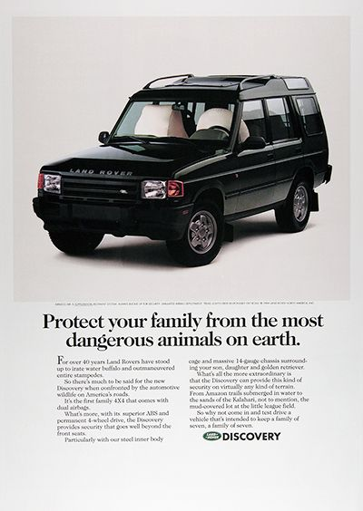 1995 Land Rover Discovery Vintage Ad 025964 Land Rover Discovery Land Rover Discovery 1 Land Rover
