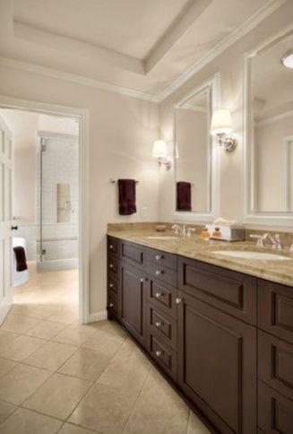 Bathroom Medicine Cabinets Paint Color Ben Moore Wicker And Tricks For Choosing The Perfect Trendy Bathroom Designs Traditional Bathroom Bathroom Colors Brown