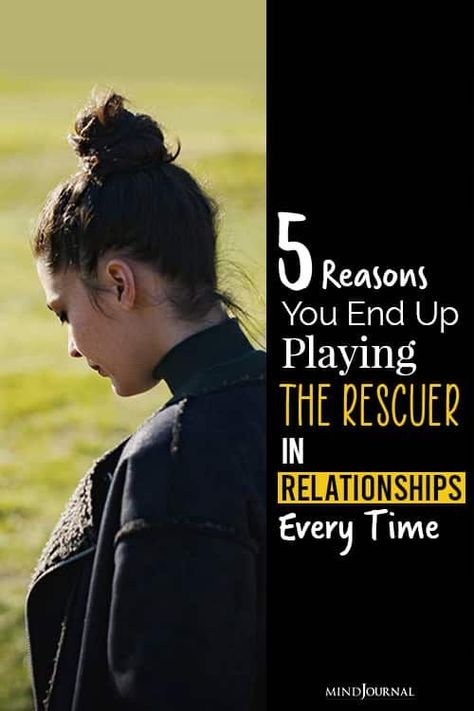 The rescuer is driven to help others, sometimes at their own expense. 5 reasons of why you may end up playing the rescuer in relationships every time? #toxicrelationship