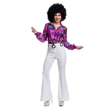 Charades Womens Long Curly Diva Costume Wig