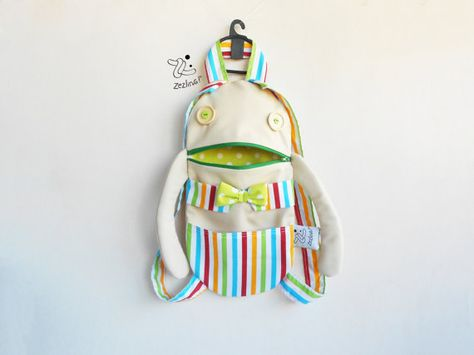 a4df7b041a09 Toddler gift smiley backpack Unisex zippered backpack by Zezling