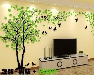 3d Grande Arvore Murais De Parede Para Sala De Estar Quarto