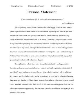 High School Thesis Paper