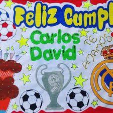 Pancartas de feliz cumpleanos de futbol