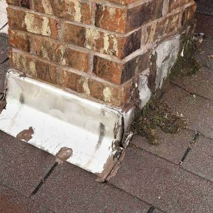 34 Silent Signs That Your House Is Failing Leaking Roof Roof Repair Brick Chimney